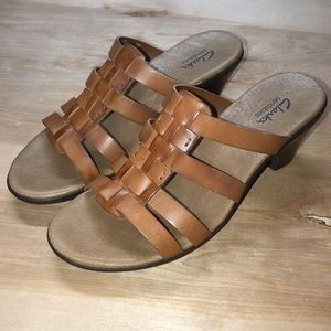 Clarks Bendables Carrie Beth Strap Shoes 7.5 NWT